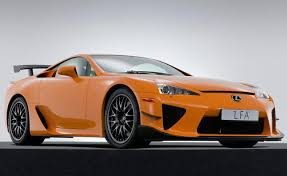 orange lexus lfa autoguide week in million dollar lexus carbon fiber