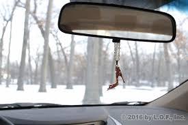 gold bling high heel shoe rear view mirror car charm ornament
