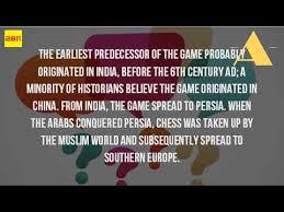 where did chess originate