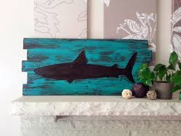 wonderfull shark wall decor ideas interior decoration