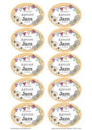 editable printable jar labels great british summer apricot jam jar labels you can edit and use