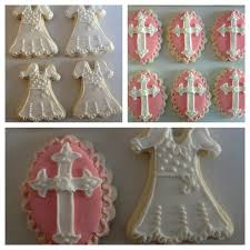 baptism cookies first communion christening baby
