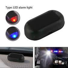 security led lights car useful 1 pcs 12v car anti theft alarm with blinking flash warning