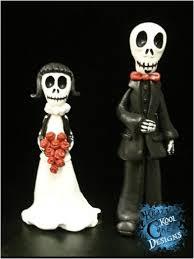 skull cake topper sugar skull wedding cake toppers