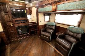 horse trailer living quarter floor plans living quarters 4 star trailers