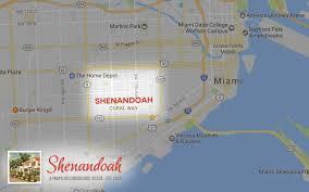 Map Of Miami Neighborhoods by Our Territory Miami Shenandoah Neighborhood Association Miami
