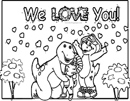 download coloring pages barney coloring pages barney coloring