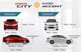 Hyundai Accent Interior Dimensions Honda City U0026 Hyundai Accent Know The Better Pick Car Models