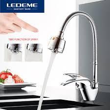 plomberie robinet cuisine ledeme cuisine robinet universel 3 sortes de voie d eau tuyau