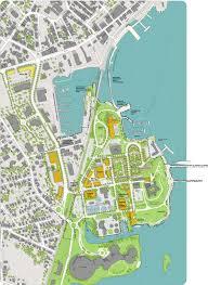 Yale Map Fort Trumbull Vision Yale Urban Design Workshop