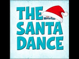 the santa dance official music video this is great for a brain
