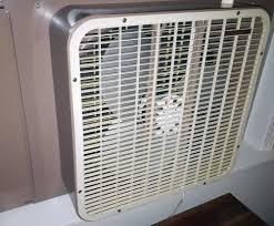 electric fan box type lakewood vintage window fan reversible 20 inch box type w metal
