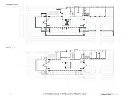 apartments frank lloyd wright style house plans prairie style