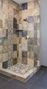 Slate Bathroom Ideas by Rustic Modern Slate Shower Thetileshop Bathroom Pinterest