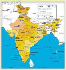 india map of india s states and union territories nations