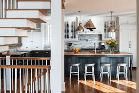 kitchen cabinets white on top dark on bottom kitchen cabinets painted kitchen cabinet ideas freshome