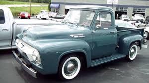 1954 ford f100 239v8 y block ohv 37xxx original miles youtube