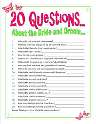 bridal shower question 14 best bach party images on bridal shower questions