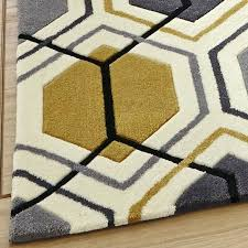 Yellow And Grey Runner Rug Yellow And Gray Rugs Yellow Grey Area Rug And Chevron Black At