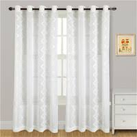 Cotton Gauze Curtains Cheap Voile Curtains Embroidered Free Shipping Voile Curtains