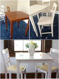 Chalk Paint Ideas Kitchen by Re Finished Boring Brown Pub Table With Chalk Paint Distressed