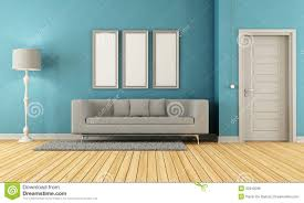 Tan And Grey Living Room by Blue And Grey Living Room Royalty Free Stock Image Image 32810296