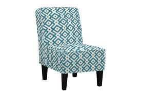 Teal Blue Accent Chair Jules Blue Accent Chair Mor Furniture For Less