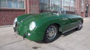 green porsche convertible 1958 porsche speedster intermeccanica replica for sale rare irish