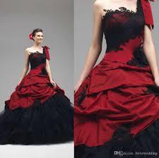 halloween corset vintage gothic victorian wedding dresses 2016 with one shoulder
