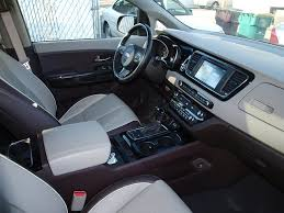 Interior Kia Sedona The Used 2015 Kia Sedona Sxl For Sale With Ewald Ewald Kia