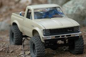 toyota trucks usa toyota pickup truck a wickedly modified axial scx 10 youtube