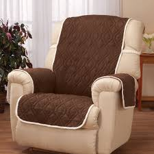 brown chair covers deluxe reversible waterproof recliner chair cover walter