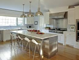 stainless steel kitchen islands stainless steel kitchen island with marble countertops and onda