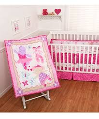 Ballerina Crib Bedding Sumersault Crib Bedding Set 7 Ballerina