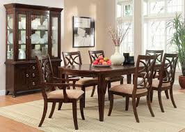 dallas designer furniture keegan formal dining room set with leg