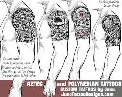 aztec tribal polynesian
