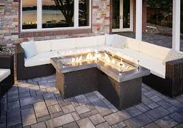 Gas Firepit Table Gas Pit Table Outdoor Focal Point Fireplaces Firepits