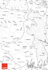 Map Of The World Blank by Blank Simple Map Of West Bengal