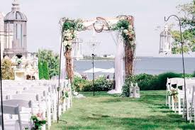 wedding arches coast whimsical shabby chic wedding with east coast charm in newport