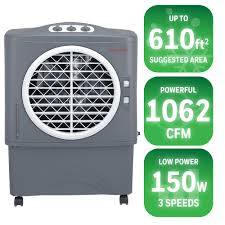 honeywell 1062 cfm 3 speed portable evaporative cooler for 610 sq