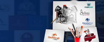 custom logo design services online by business logo designer