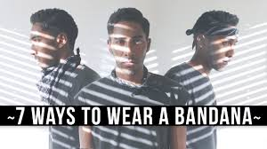 7 ways to wear a bandana what to wear to coachella festival