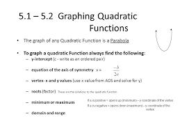 quadratic functions u0026 inequalities ppt video online download