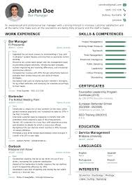 Professional Resume Template by Resume Template Professional 2017 Professional Rsum Templates For