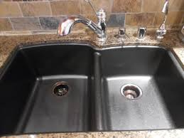 black granite composite sink stunning black granite composite sink care pic for pros cons style