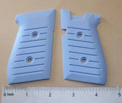 grips ice blue jimenez bryco jennings 9mm 948 gun parts antique