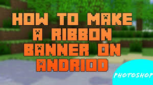 minecraft ribbon how to make a ribbon banner on android minecraft amino