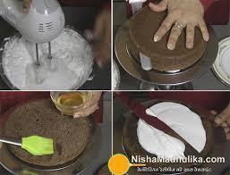 ब ल क फ र स ट क क eggless black forest cake recipe