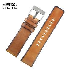 bracelet watches fossil images Genuine leather watch straps for diesel fossil retro 24mm mens jpg