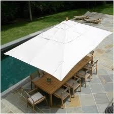 Rectangle Patio Umbrella Teak Patio Umbrella Impressive Design Elysee Magazine